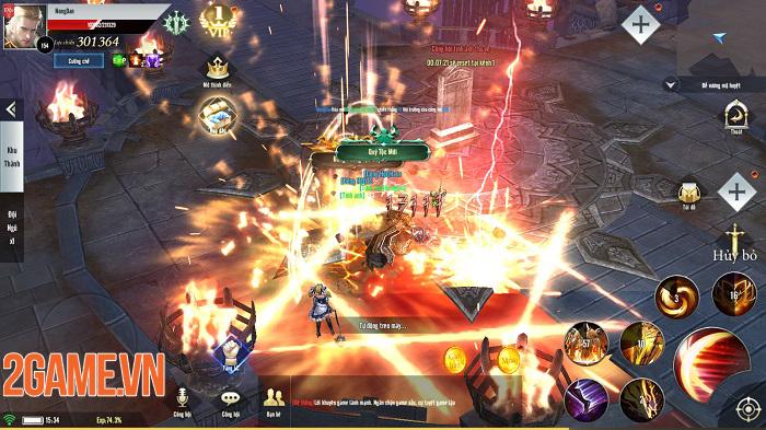 Thiên Sứ Mobile và chuyện NPH GTV lần đầu thử sức với game bối cảnh Châu Âu 4