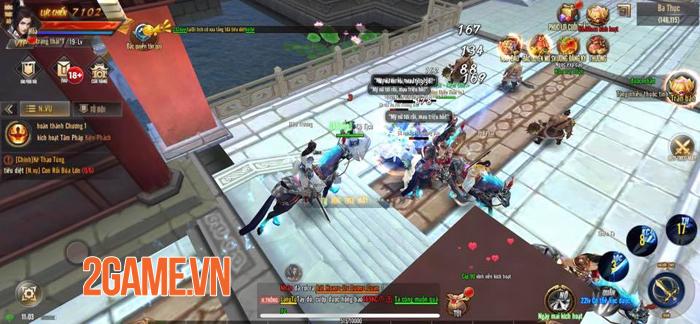 Kiếm Động 3D Mobile thu hút đông đảo game thủ nhờ lối chơi phóng khoáng 2