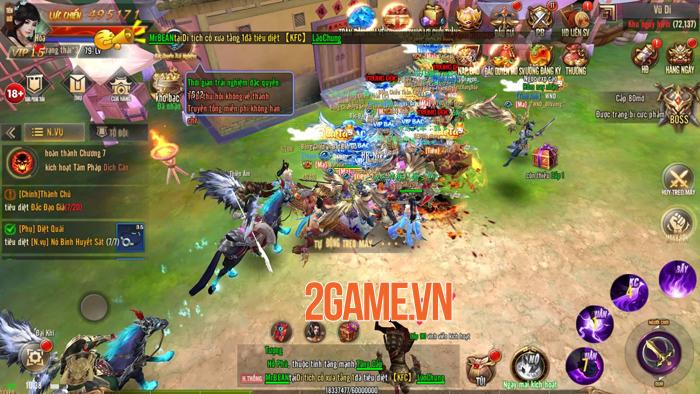 Kiếm Động 3D Mobile thu hút đông đảo game thủ nhờ lối chơi phóng khoáng 1