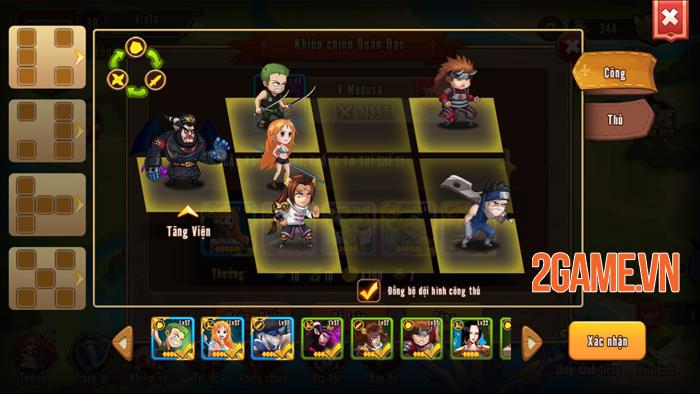 Nhẫn Giả Haki Mobile chính là tâm huyết của những người làm game Việt yêu thích Manga 1