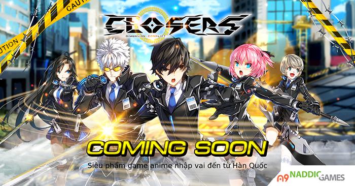 Game PC hành động Closers Online công bố lộ trình ra mắt tại Việt Nam 0