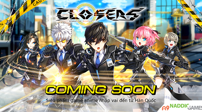 Game PC hành động Closers Online công bố lộ trình ra mắt tại Việt Nam