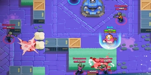 Stardust Battle có lối chơi đấu team 3v3 với tiết tấu nhanh và vui nhộn