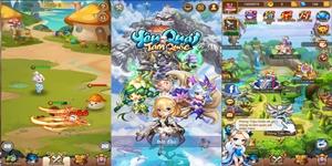 Yêu Quái Tam Quốc Mobile: Game đấu tướng rảnh tay lấy đề tài 3Q thú vị