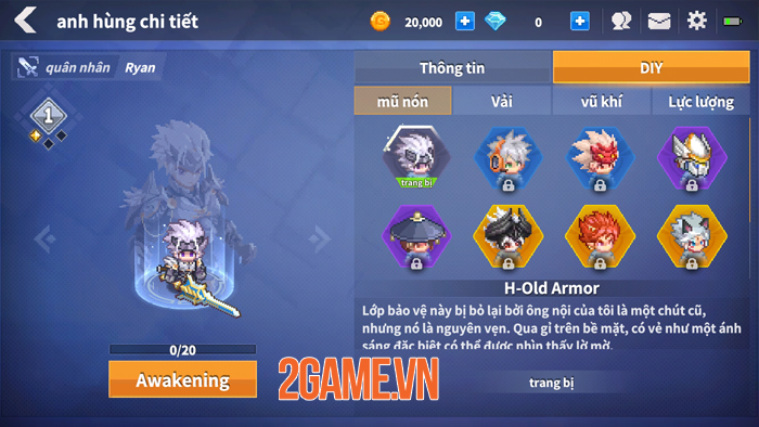 Trải nghiệm game Force of Guardians bản tiếng Việt vừa ra mắt 1