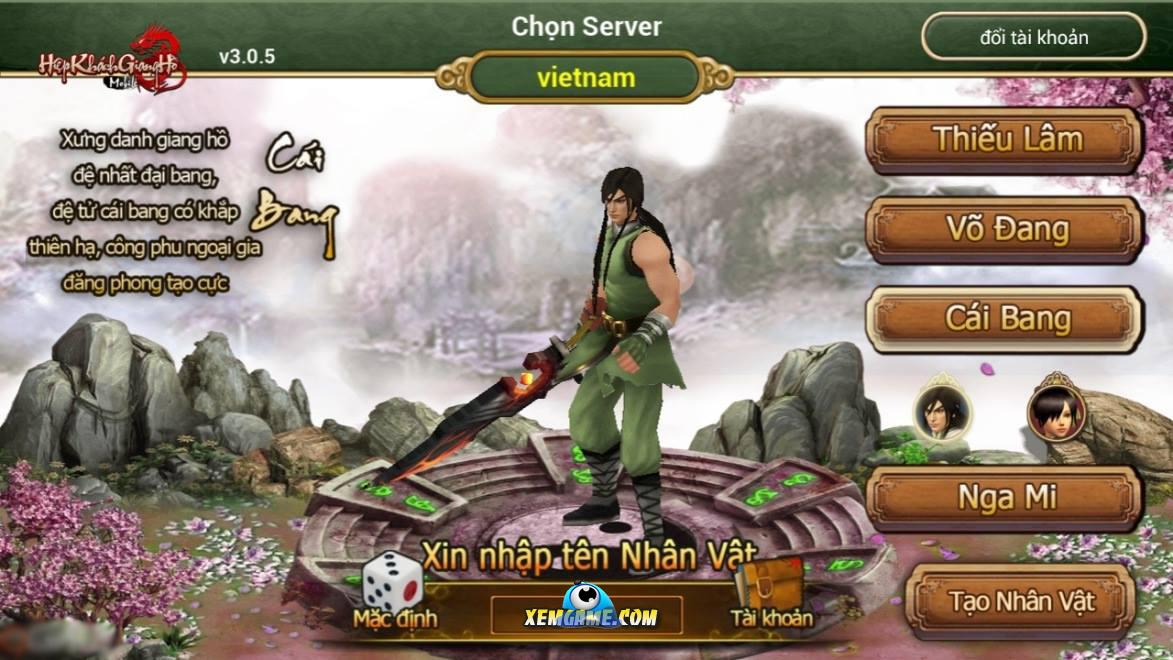 Hiệp Khách Giang Hồ Mobile | XEMGAME.COM