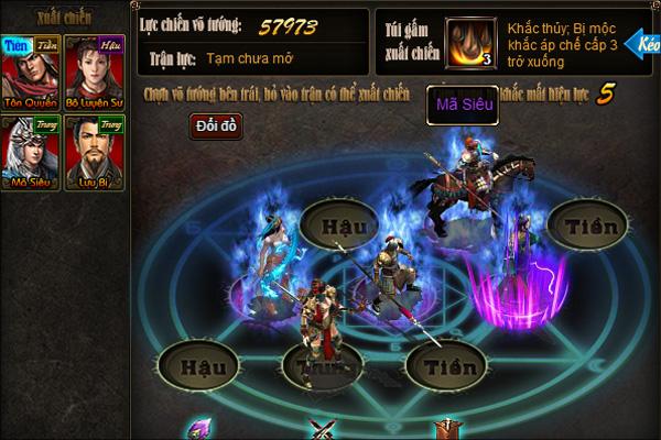 """Game chiến thuật cho phép các tướng """"xếp hình lẫn nhau"""""""