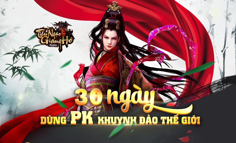 Infographic: 30 ngày dùng PK khuynh đảo thế giới của Tiếu Ngạo Giang Hồ 3D Mobile