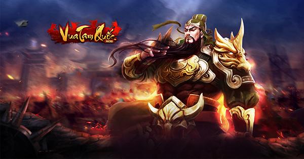 Game mới Vua Tam Quốc cập bến Việt Nam