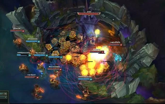 Liên Minh Huyền Thoại: Baron ăn bom đến chết
