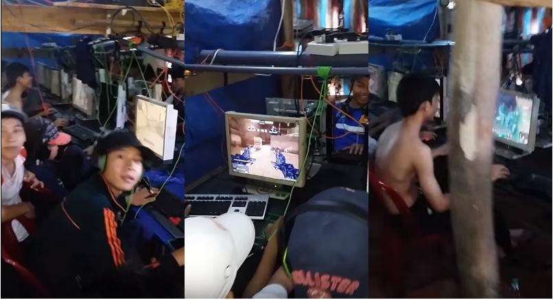 Quán net phong cách 'nhà lá' độc nhất ở Việt Nam