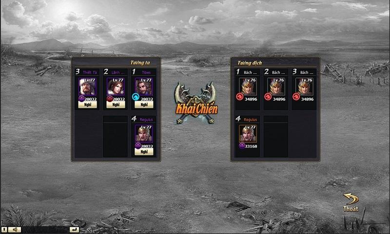 Thiên Tướng Hùng Sư – khi webgame chiến thuật được nâng tầm