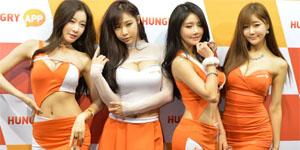 Ngắm nhìn các show girl duyên dáng tại G-Star 2015 (HD)