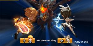 Endless Saga VN có hình ảnh dễ thương, lối chơi chiến thuật cực chất