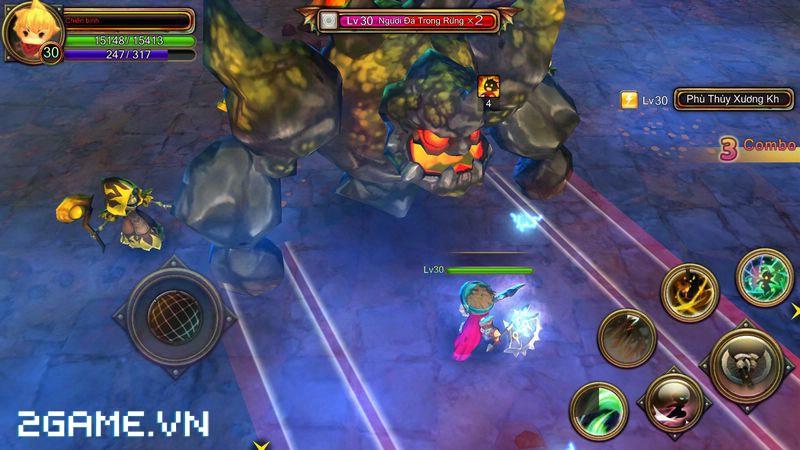 XemGame đặt chân vào Dragon Encounter bản Việt hóa