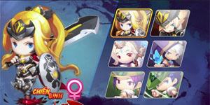 Luyện Rồng mobile tiết lộ ưu nhược về 3 lớp nhân vật
