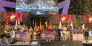 Đội tuyển Việt Nam vô địch giải Đột Kích Châu Á – CFSI 2015