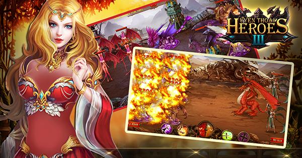 Huyền Thoại Heroes III định ngày mở cửa, đã cho tải game