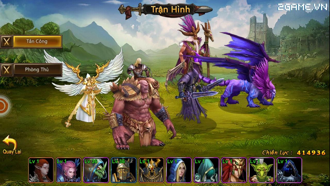 Cận cảnh Huyền Thoại Heroes III bản Việt hóa