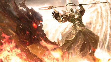 Đại thiên thần Imperius trong Diablo bất ngờ xuất hiện trong Bất Bại Chiến Thần?