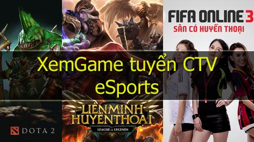 XemGame tuyển CTV viết bài mục eSports (LMHT, Dota 2, FIFA Online 3,…)