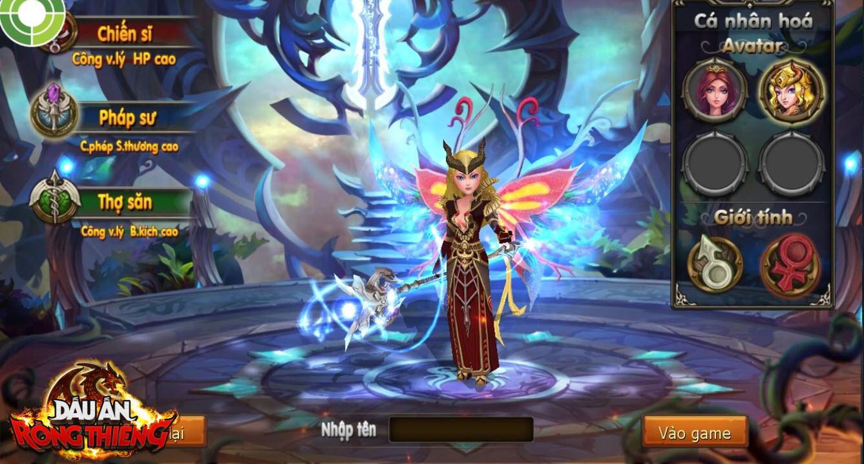 Đã có thể tải game mobile online Dấu Ấn Rồng Thiêng về máy