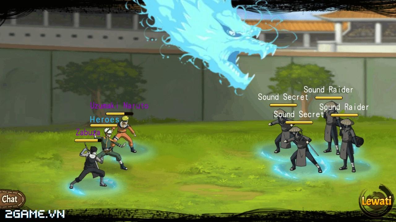 Game Naruto Cửu Vĩ mobile được VGG mua về Việt Nam