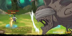 Game Làng Lá mobile giống truyện Naruto ở khía cạnh hình ảnh