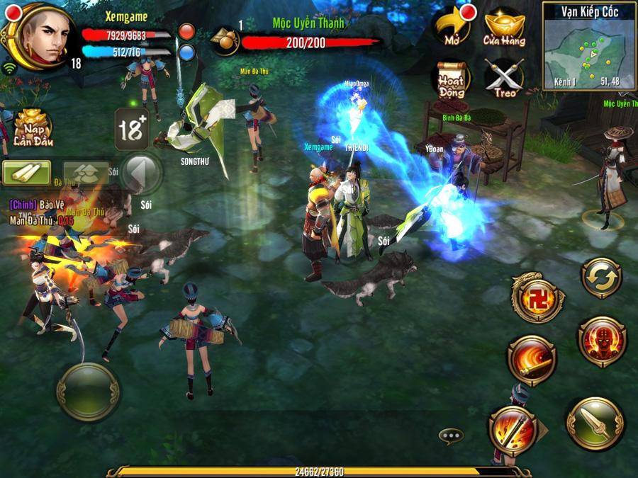 Thiên Long Bát Bộ 3D mobile | XEMGAME.COM