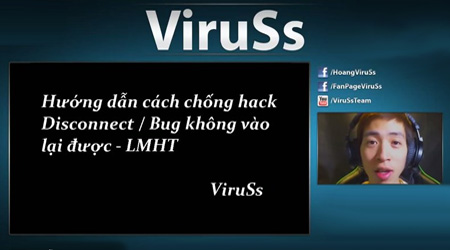 LMHT: VirusS hướng dẫn chống hack Disconnect trên win 7