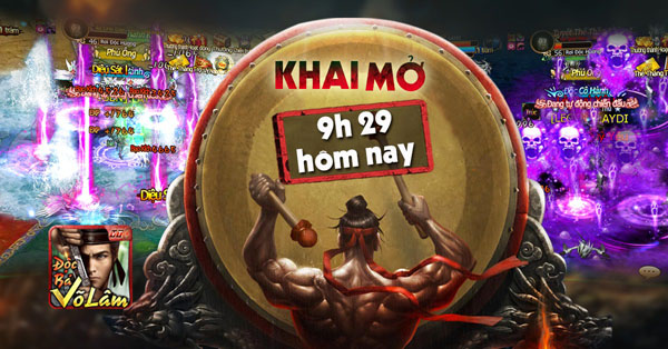 XemGame tặng 500 giftcode game Độc Bá Võ Lâm