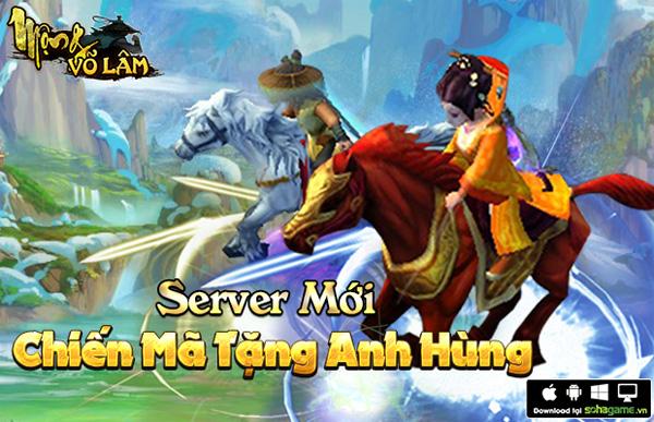 XemGame tặng 500 giftcode game Mộng Võ Lâm