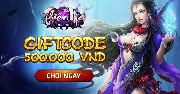 Thần Ma Online tặng đọc giả XemGame 500 giftcode