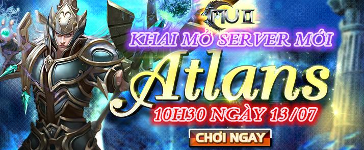 MU 2 tặng 1000 giftcode mừng server Atlans