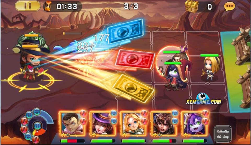 Siêu Thần Liên Minh nhại theo nhiều tính năng của game Chain Chronicle