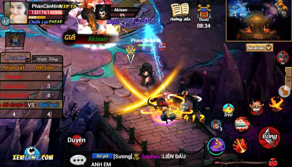 Lãng Khách mobile chứa nhiều hoạt động thú vị cho gamer thoải mãi chinh phục