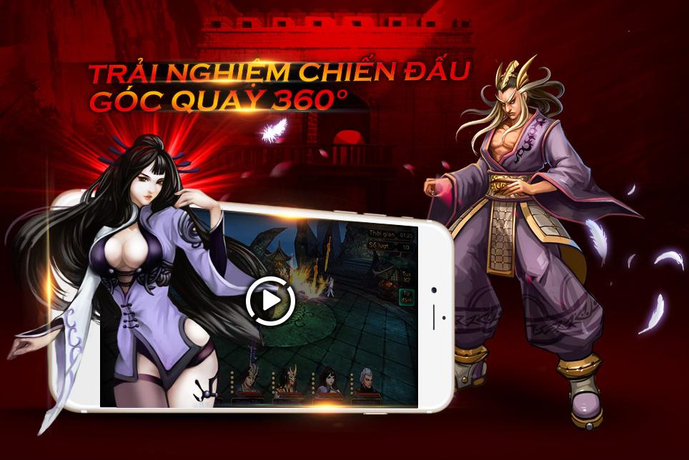 Võ Lâm Tranh Bá mobile bất ngờ ra mắt làng game Việt
