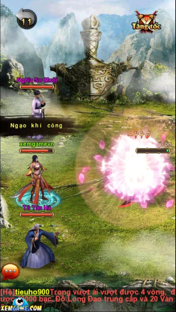 Long Kiếm | XEMGAME.COM