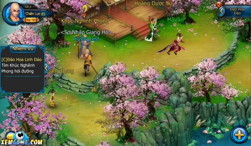 Thiên Long Truyền Kỳ: Game Mobile phong cách Chibi đẹp mắt