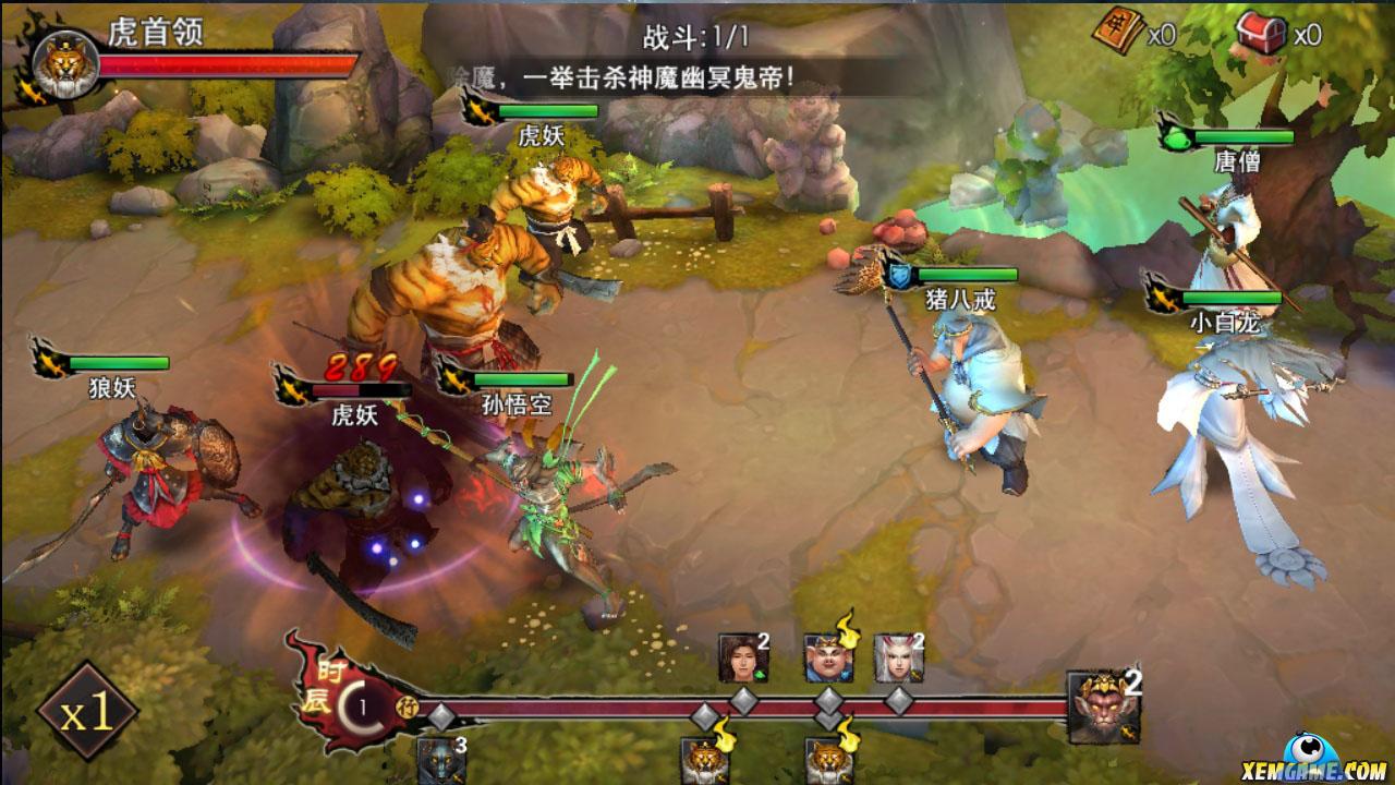Quỷ Hầu Vương mobile cung cấp hơn 100 nhân vật từ Tây Du Ký