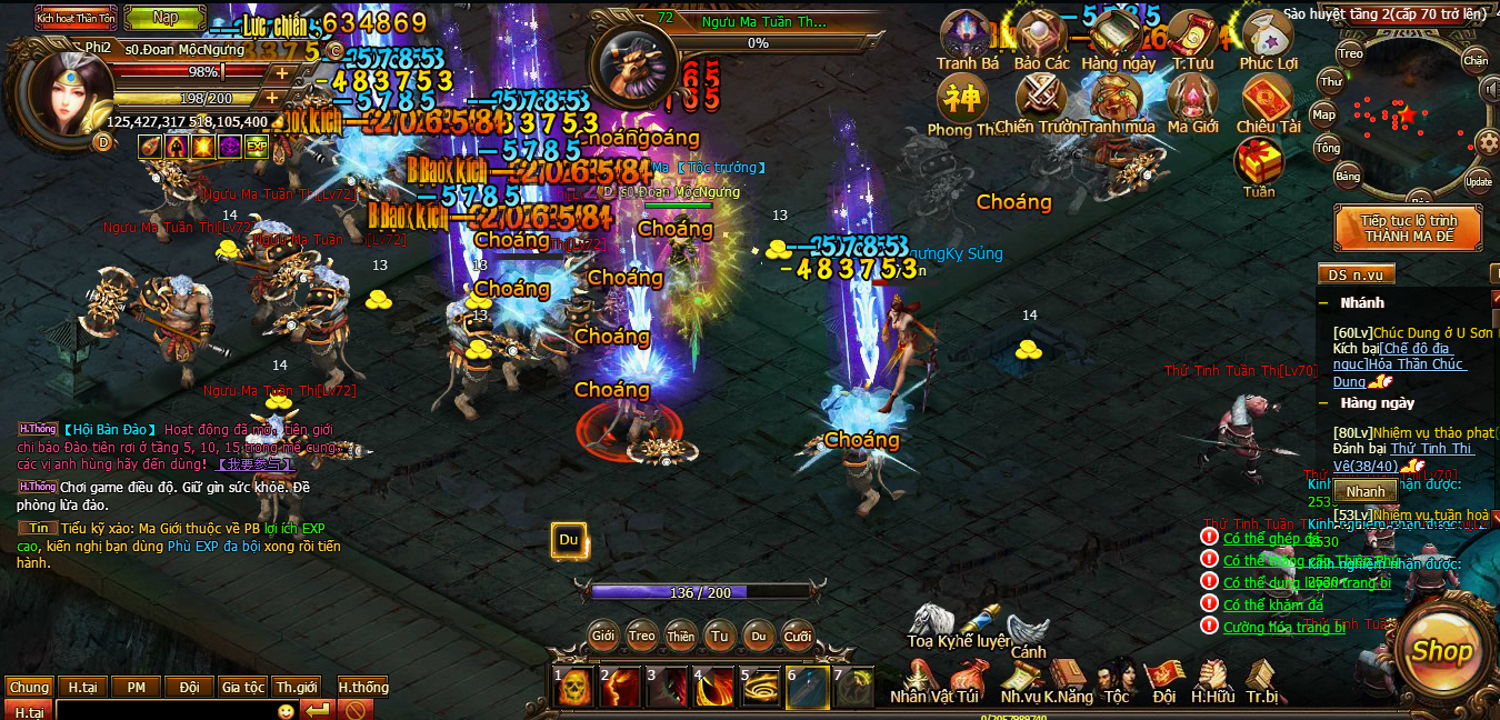Thiên Ma Online | XEMGAME.COM