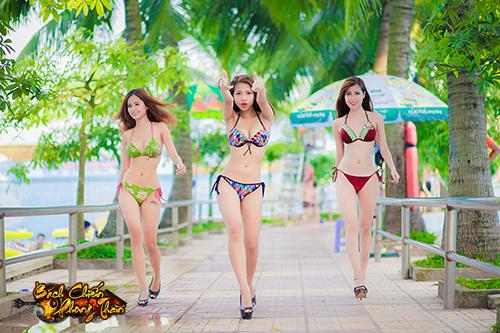 Bỏng mắt với dàn bikini của Bách Chiến Phong Thần