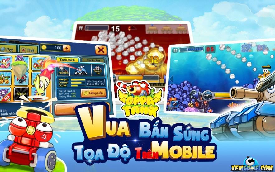 Oppa Tank: Thêm một game nhái Gunbound về Việt Nam