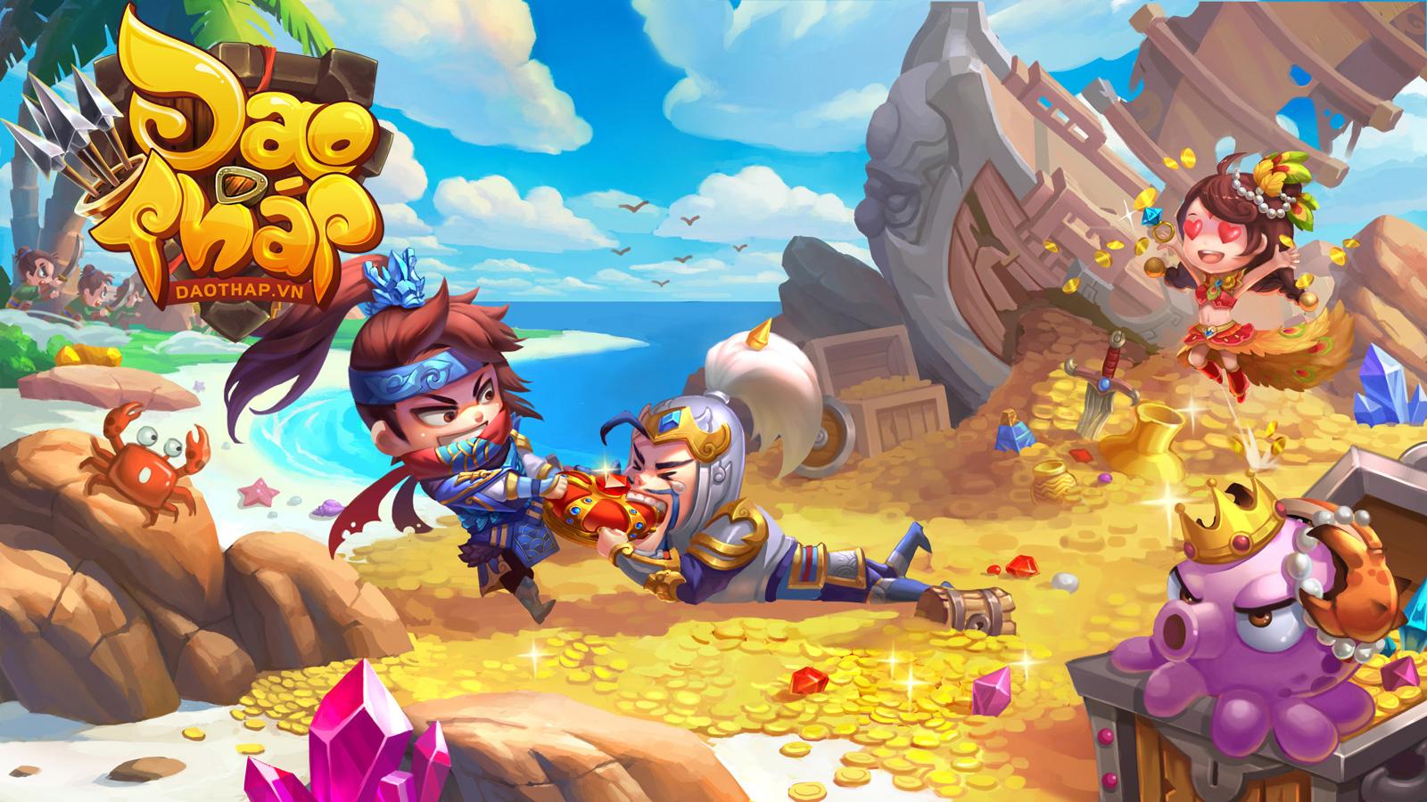 Đao Tháp Online là tên Việt hóa của game Mộng Tháp Phòng