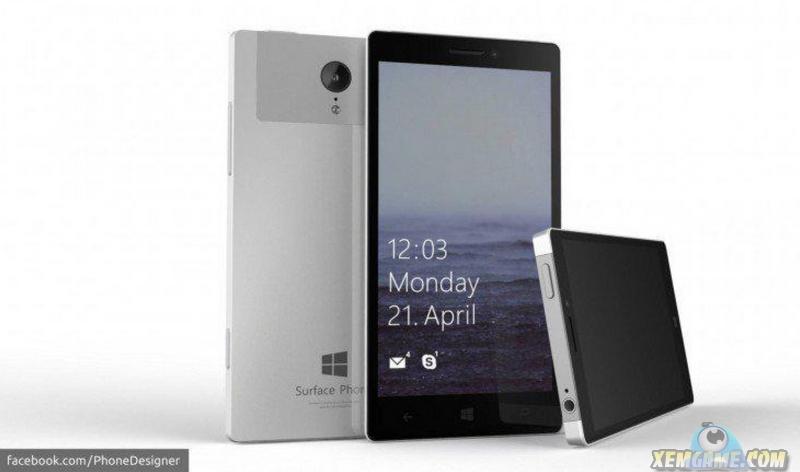 Lộ diện Surface Mobile: Màn 4K, CPU Atom X3, Camera 21Megapixel?