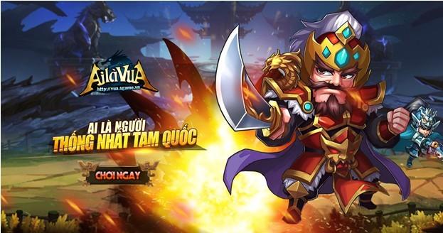 Ai Là Vua: Ngôi sao sáng giữa rừng game mobile Tam Quốc?