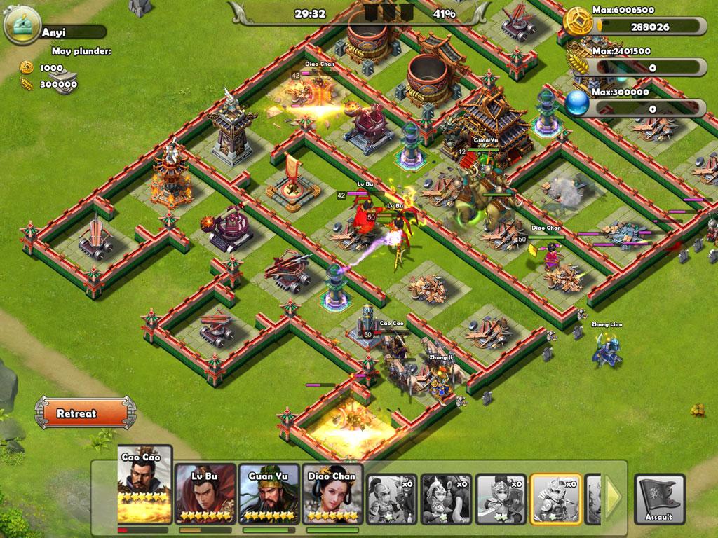 Đại Chiến Tam Quốc | XEMGAME.COM
