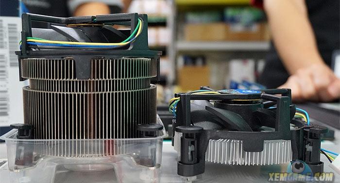 Cận cảnh bộ tản nhiệt khí Intel TS15A cho socket 1151