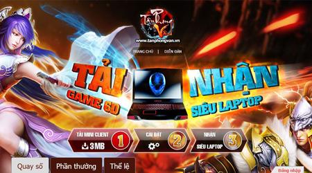 Tân Phong Vân ra mắt Alpha Test với tổng giải thưởng lên đến 300 triệu