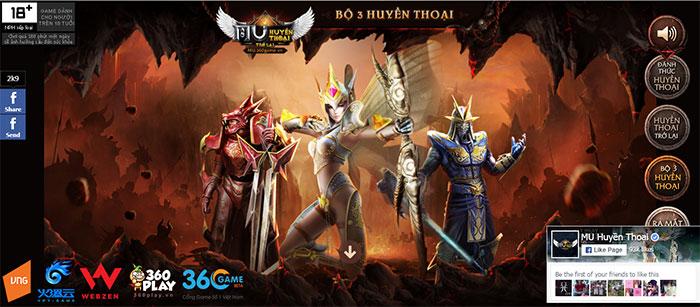 Điểm mặt các tựa game hot đã ra mắt trên cổng 360Game